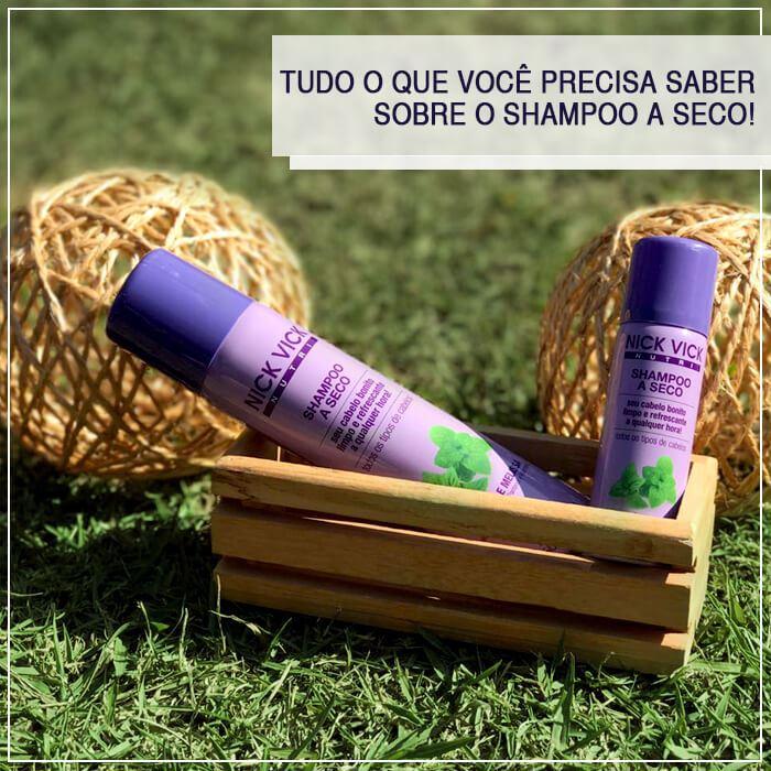 Tudo o que você precisa saber sobre Shampoo a Seco!
