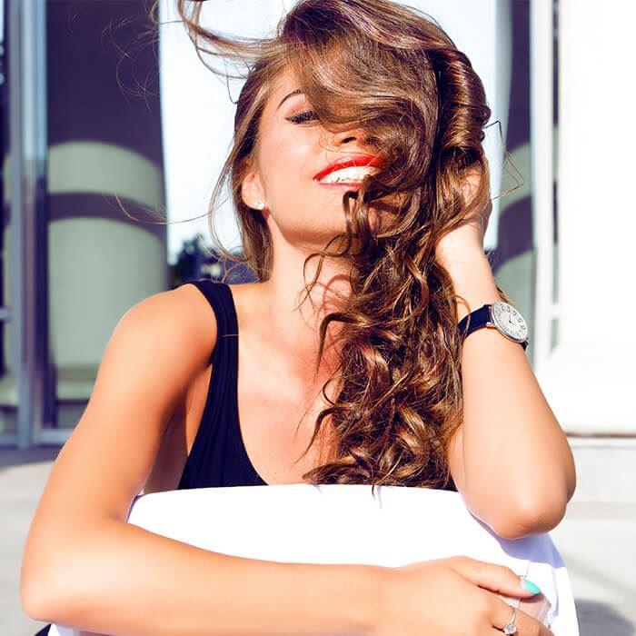 Como diminuir a queda dos cabelos com a ajuda de vitaminas