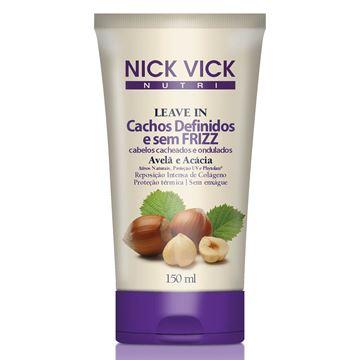 Imagem de Leave-in Nick Vick Nutri Cachos Definidos e Sem Frizz 150ml