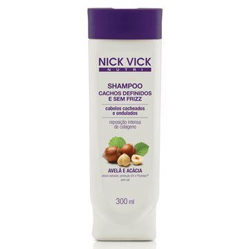 Imagem de Shampoo Nick Vick Nutri Cachos Definidos e sem Frizz 300ml