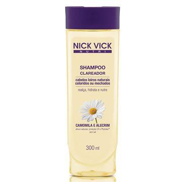 Imagem de Shampoo Clareador Nick Vick Nutri 300ml