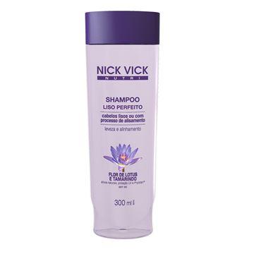 Imagem de Shampoo Liso Perfeito Nick Vick Nutri 300ml