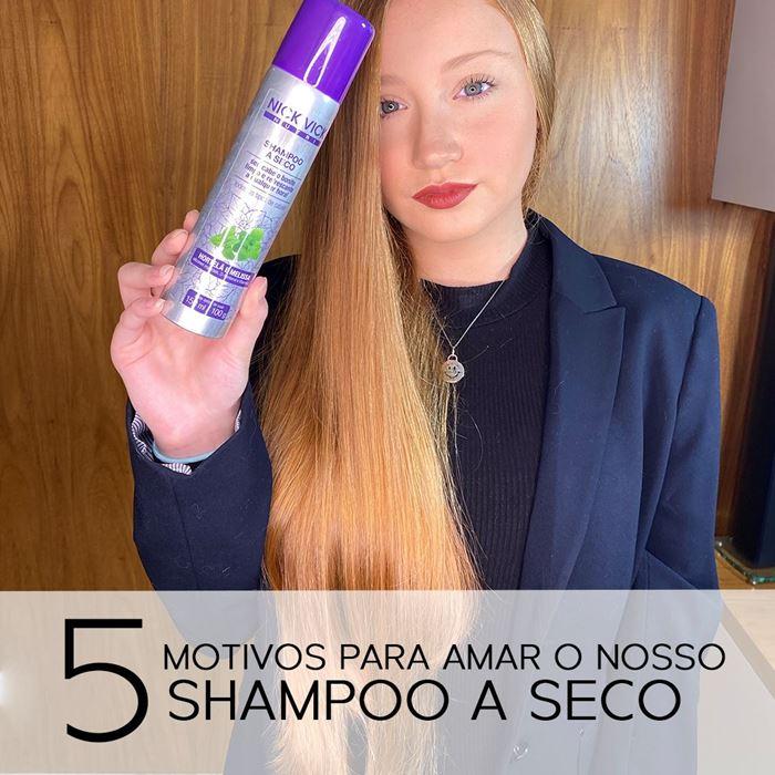 5 motivos para amar nosso shampoo a seco