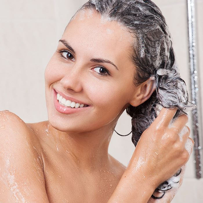shampoo transparente ou perolado